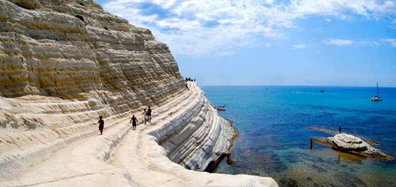 spiaggia scala turchi sicilia