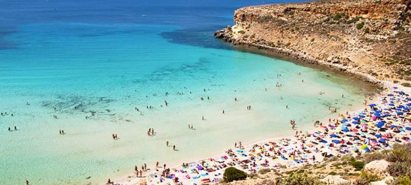 Matrimonio Spiaggia Lampedusa : Le spiagge più belle di lampedusa viaggio in